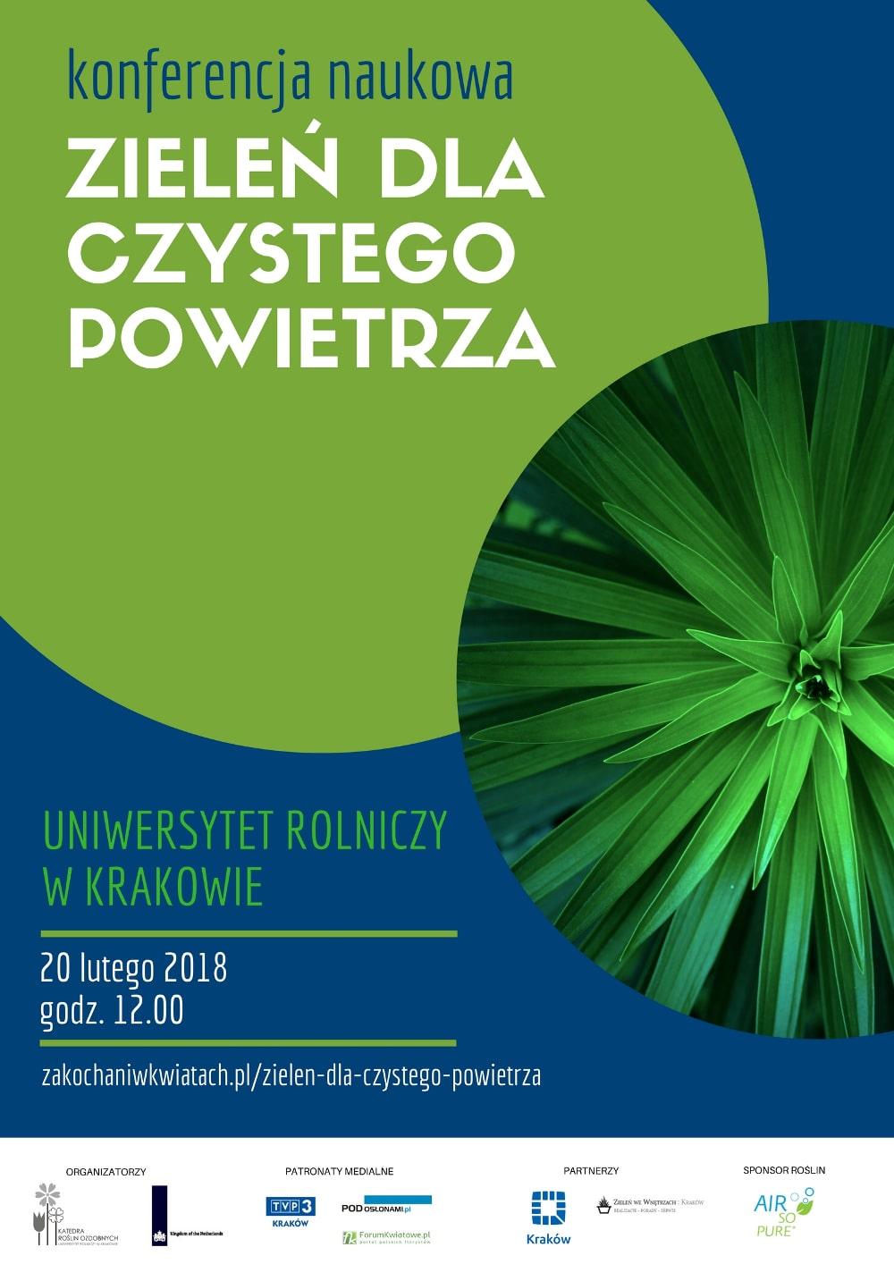 Konferencja naukowa organizowana jest przez Uniwersytet Rolniczy w Krakowie.