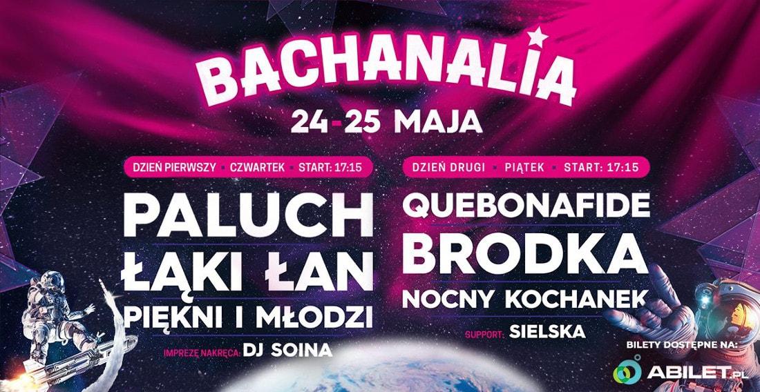 Zobacz, co będzie się działo podczas Dni Kultury Studenckiej Bachanalia 2018!