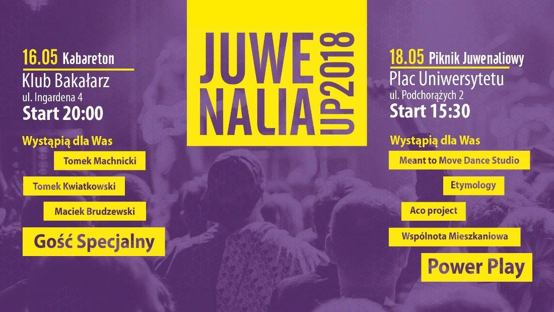 Zobacz, co będzie się działo podczas Juwenaliów Uniwersytetu Pedagogicznego w Krakowie!