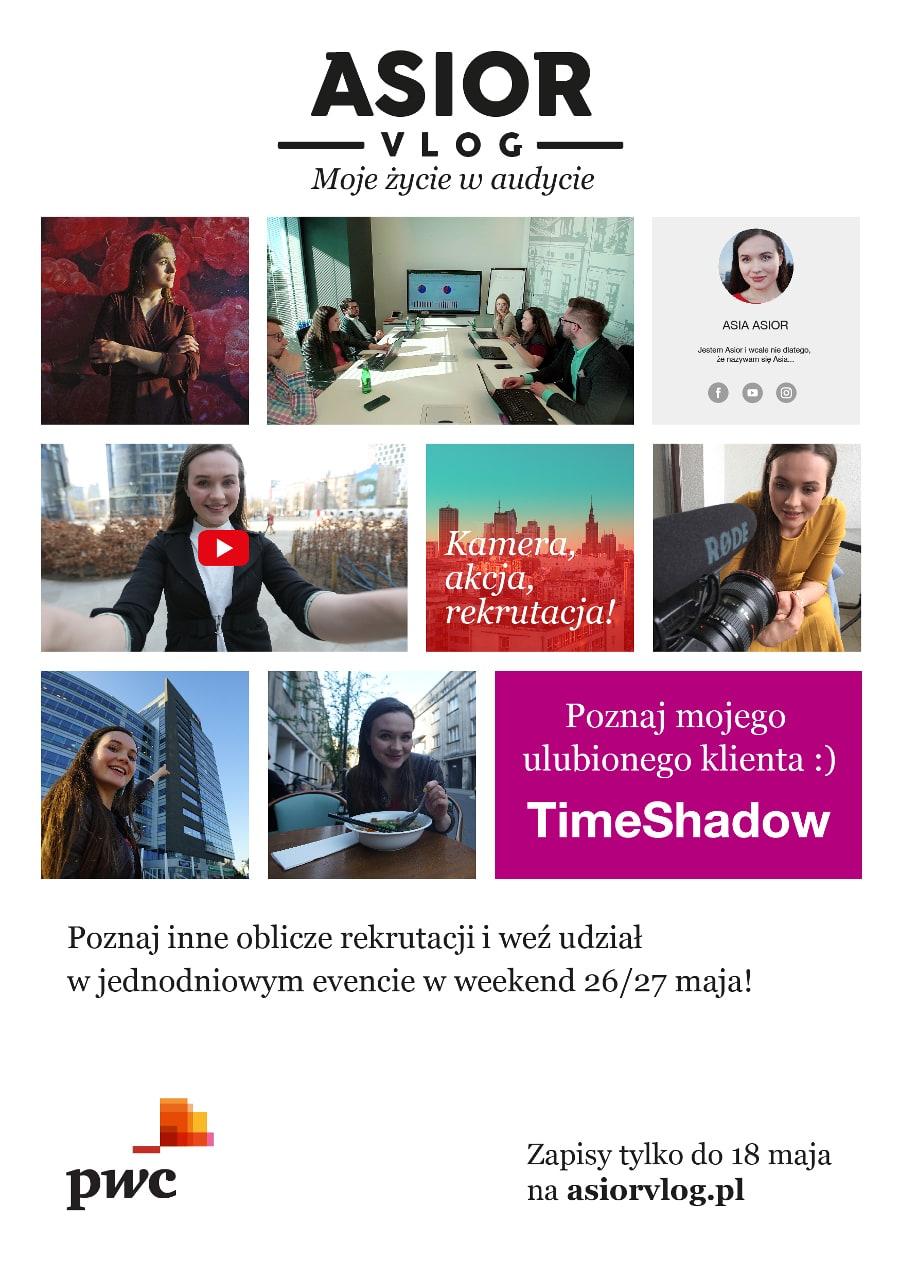 Fabularna gra rekrutacyjna TimeShadow organizowana przez PwC!