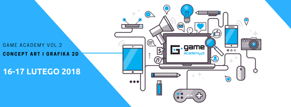 GameAcademy vol. 2. Concept ART i Grafika 2D.