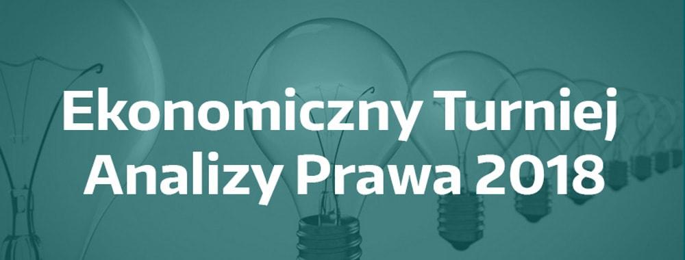 Pierwszy w Polsce konkurs z ekonomicznej analizy prawa dla studentów.