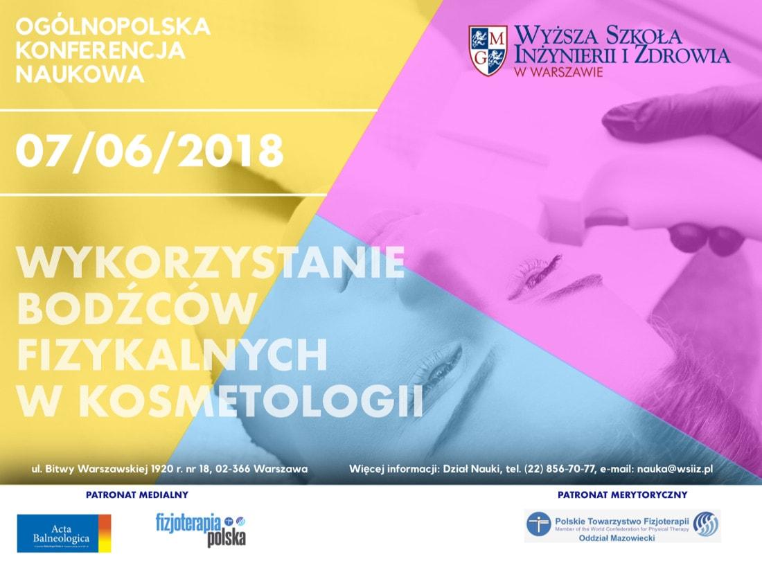 Konferencja odbędzie się 7 czerwca 2018 roku.