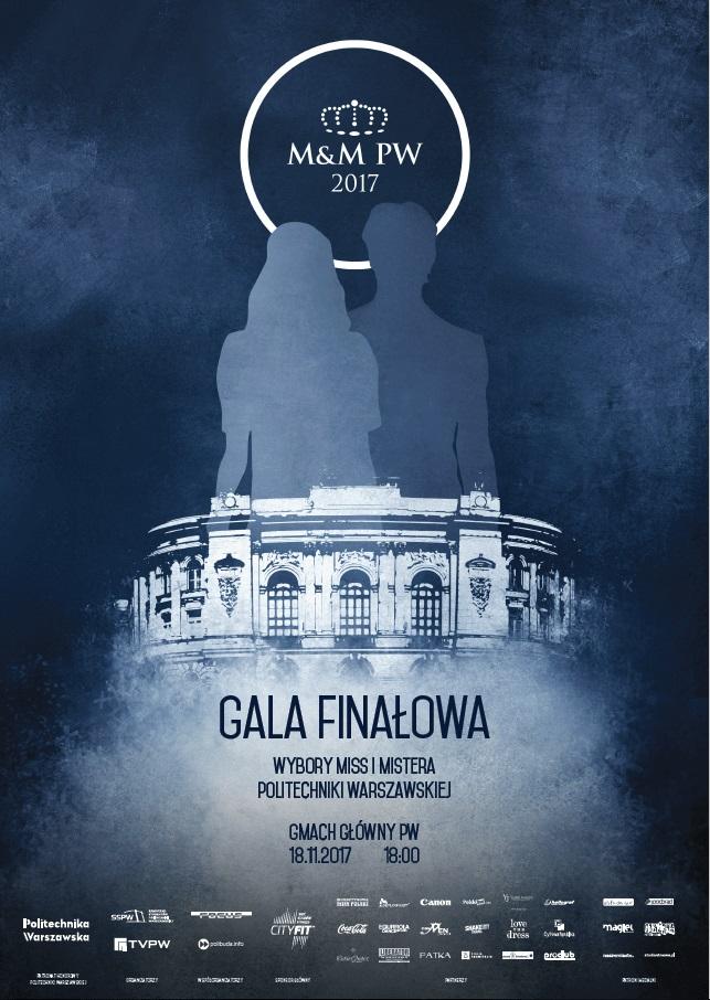 Gala odbędzie się 18 listopada 2017 roku w Dużej Auli Gmachu Głównego Politechniki Warszawskiej.