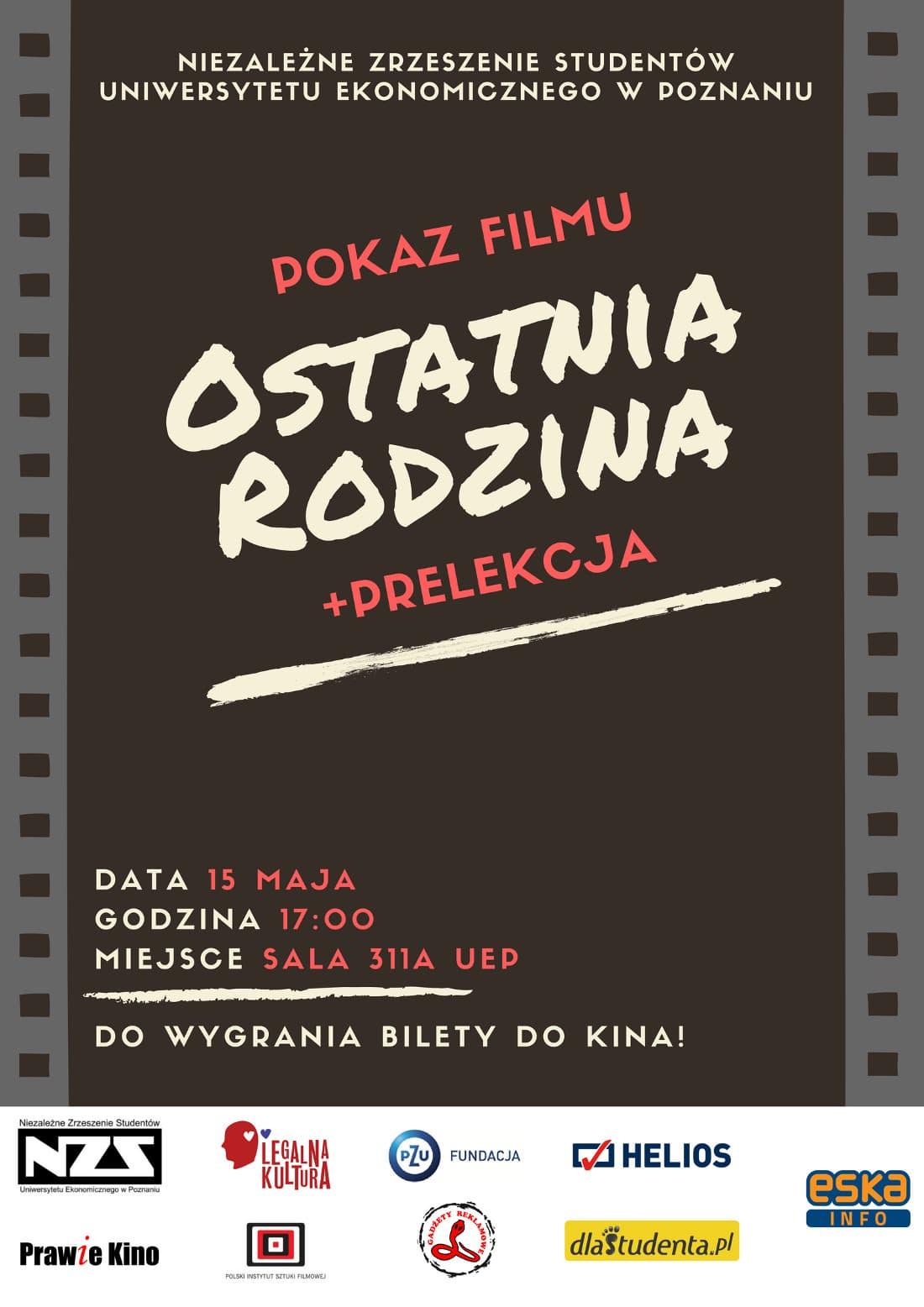 Prawie Kino odbędzie się 15 maja.