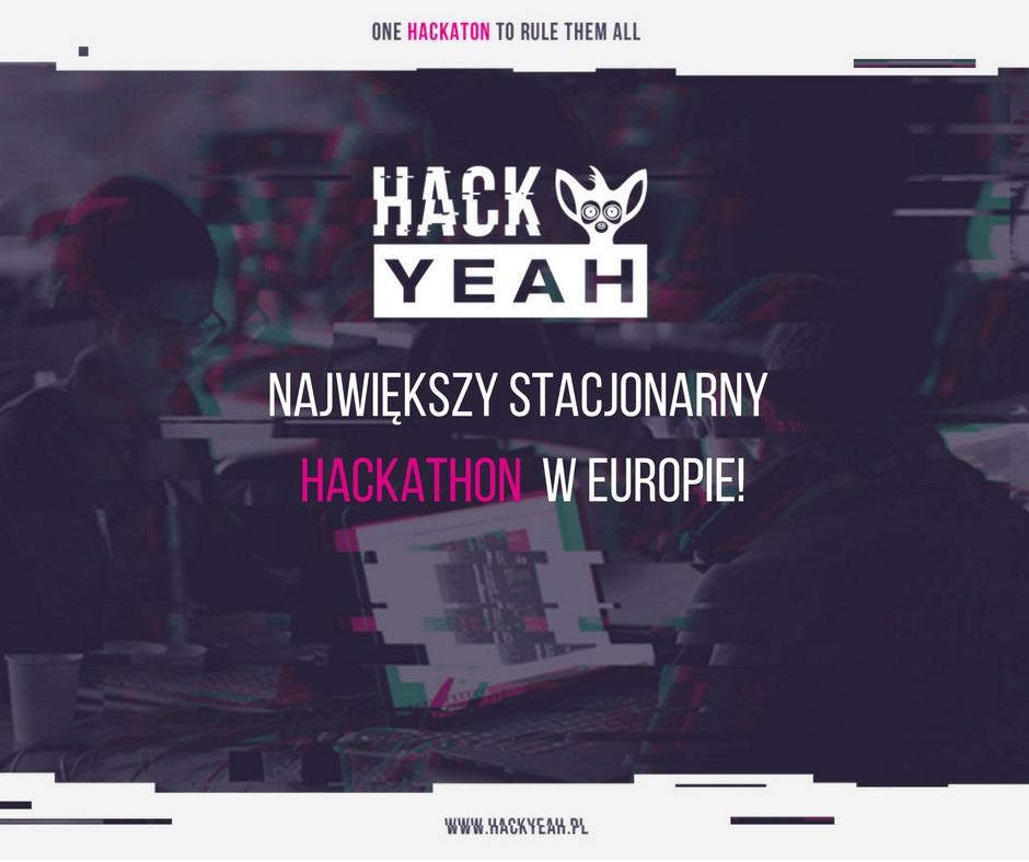 Największy w Europie hackathon stacjonarny odbędzie się w Krakowie w dniach 28-29 października.