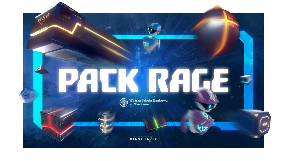 Pack Rage to nowa gra logistyczna zaprojektowana w technologii VR.