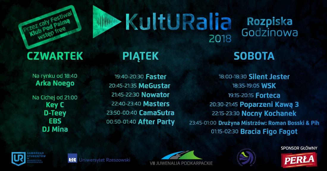Finał KultURaliów 2018 odbędzie się w dniach 24-26 maja.