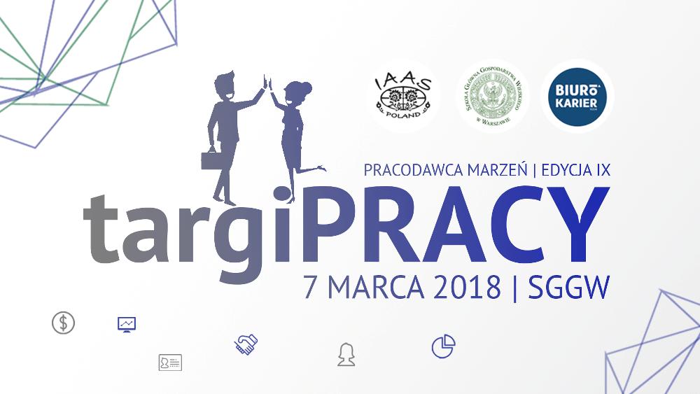 Targi odbędą się 7 marca 2018 roku.
