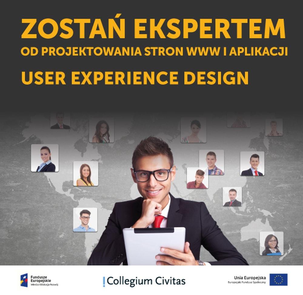 Dołącz do studiów User Experience Design w Collegium Civitas.