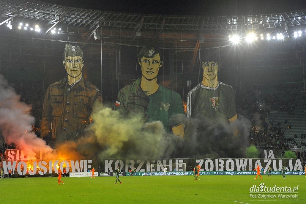 Drużyna Śląska Wrocław pokonała Zagłębie Lubin po golu Piotra Celebana.