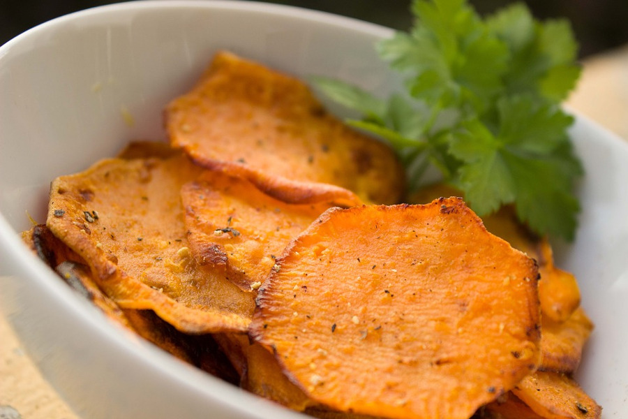 Przepis na chipsy z batatów