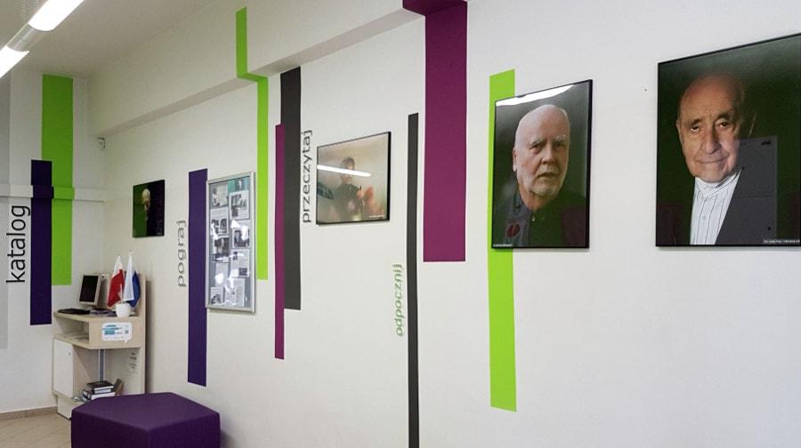 Pisarze - fotografie Judyty Papp w Bibliotece Kraków