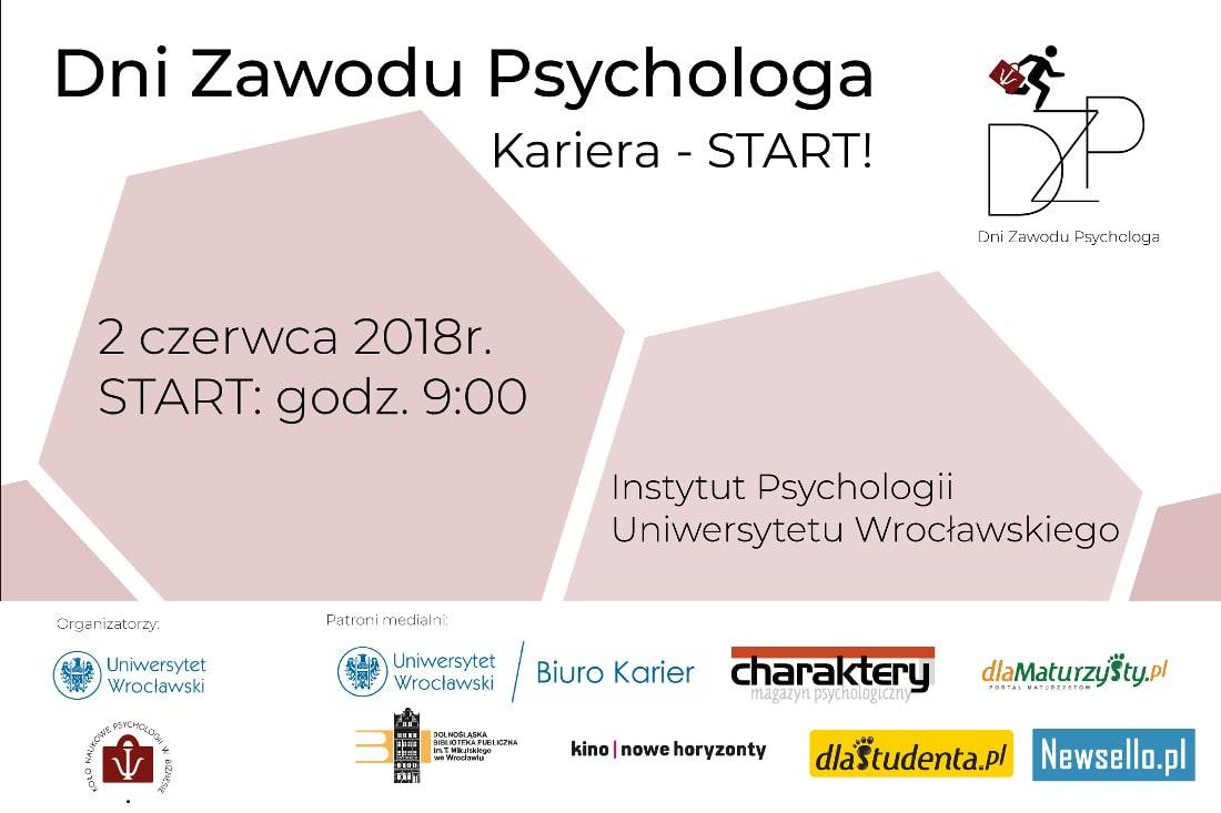 Dni Zawodu Psychologa rozpoczną się 2 czerwca.