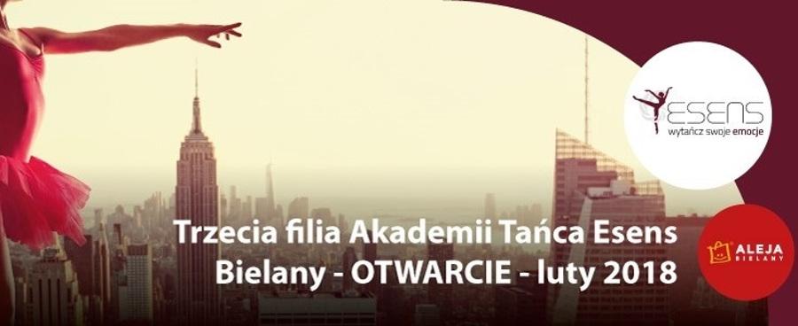 Trzecia filia Akademii Tańca Esens - Szkoła Tańca Bielany Wrocławskie