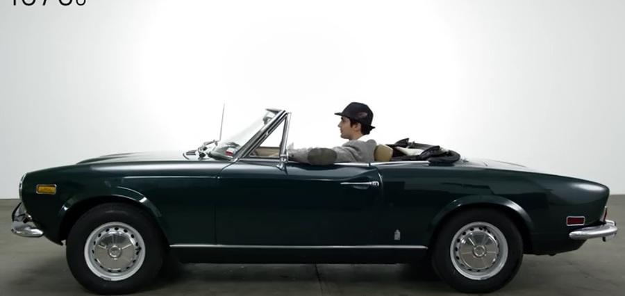 Historia samochodów na krótkim filmiku. Nagranie bije rekordy [WIDEO]