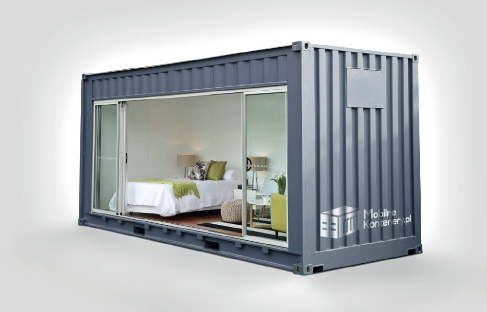 W superbly Czy mieszkanie w kontenerze jest możliwe? - mobline kontenery HS18