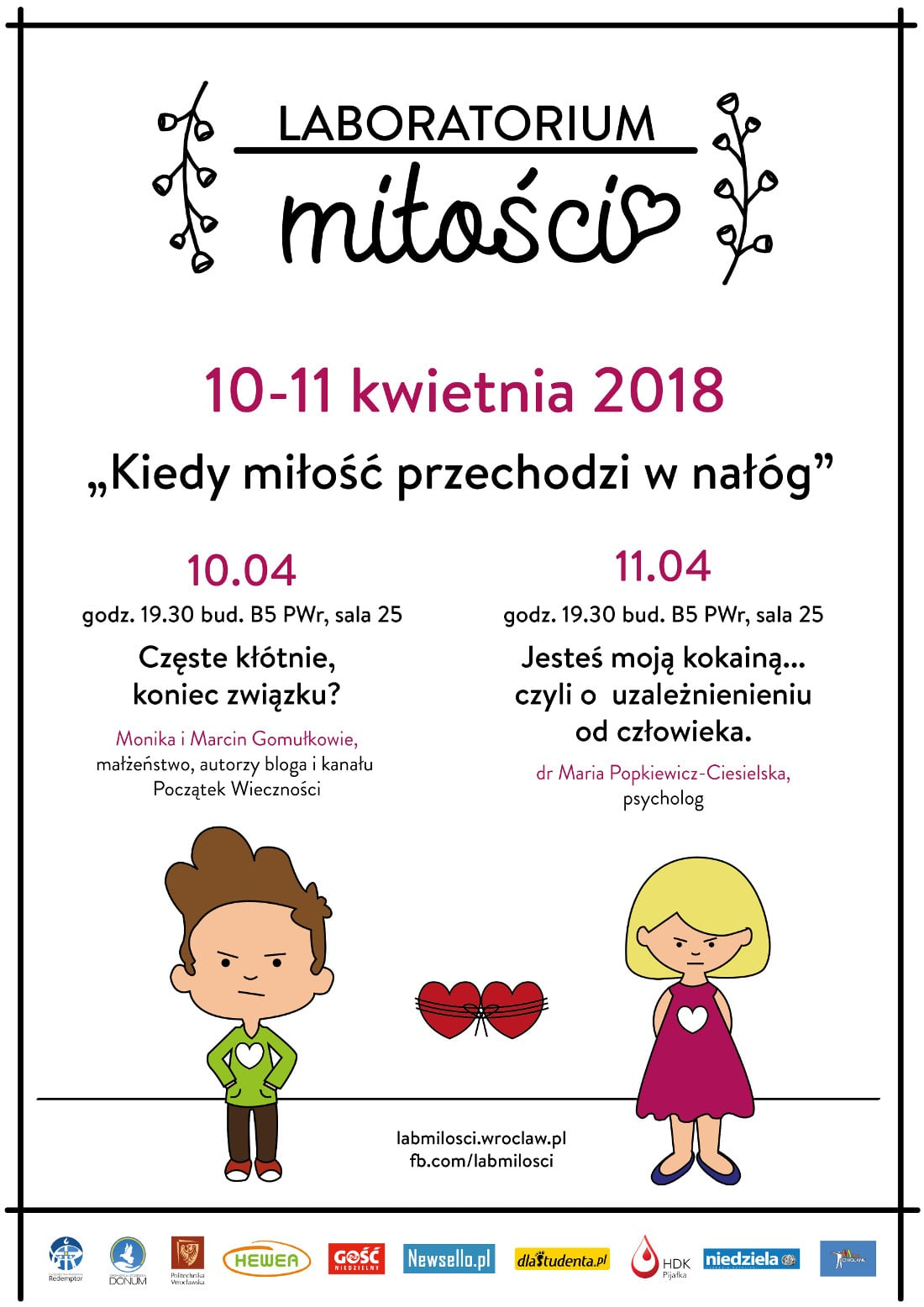 Konferencja odbędzie się w dniach 10-11 kwietnia 2018 roku.