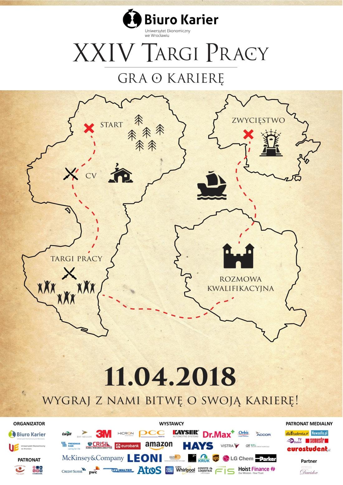 """""""Gra o Karierę"""" odbędzie się 11 kwietnia 2018 roku."""