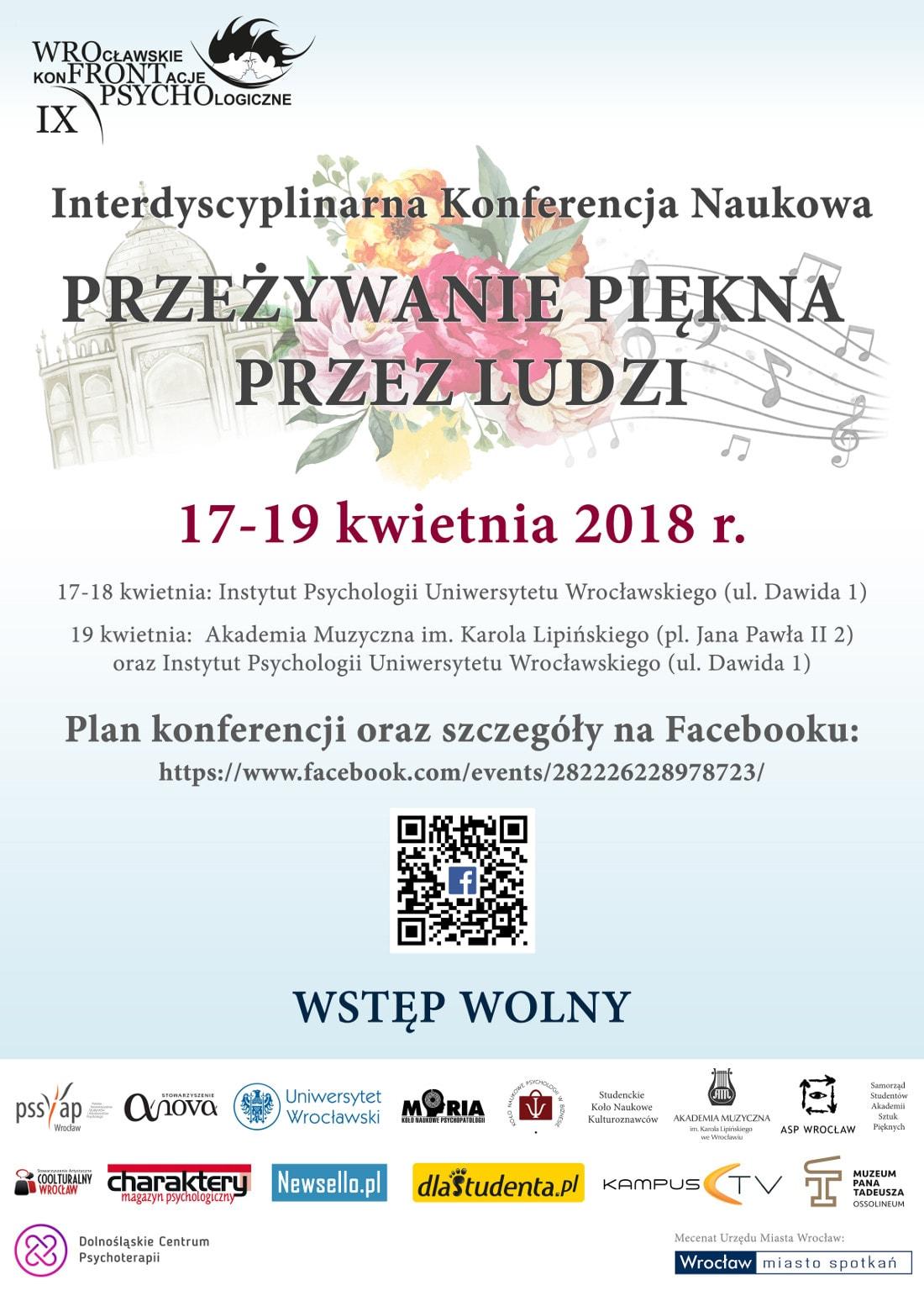 Konferencja naukowa odbędzie się w dniach 17-19 kwietnia 2018 roku.