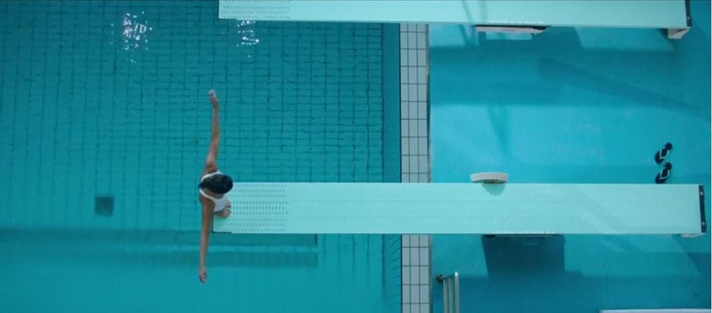 Anna na basenie