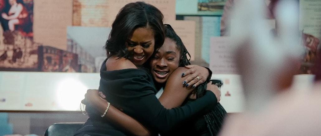 Michelle Obama z młodzieżą