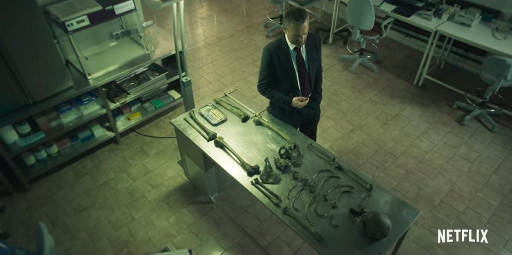 Prokurator w kostnicy