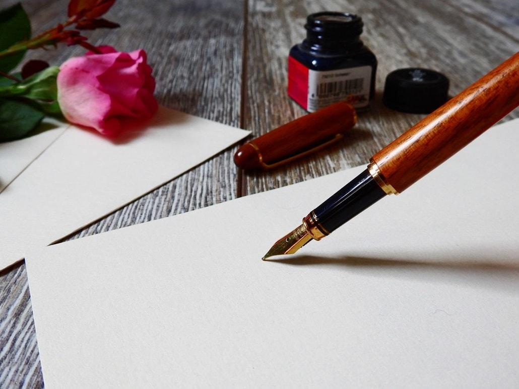 Ręczne pisanie listów