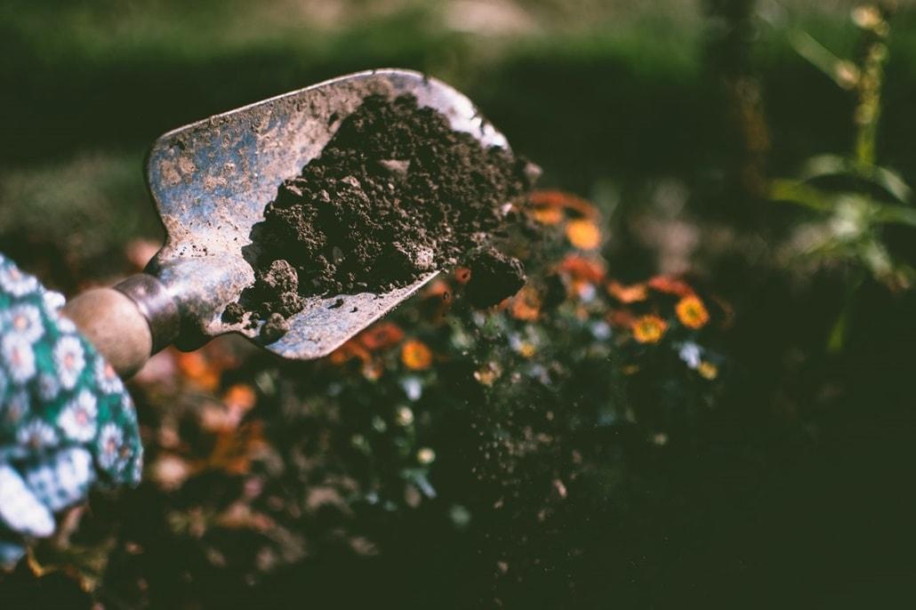 przekopywanie ogródka