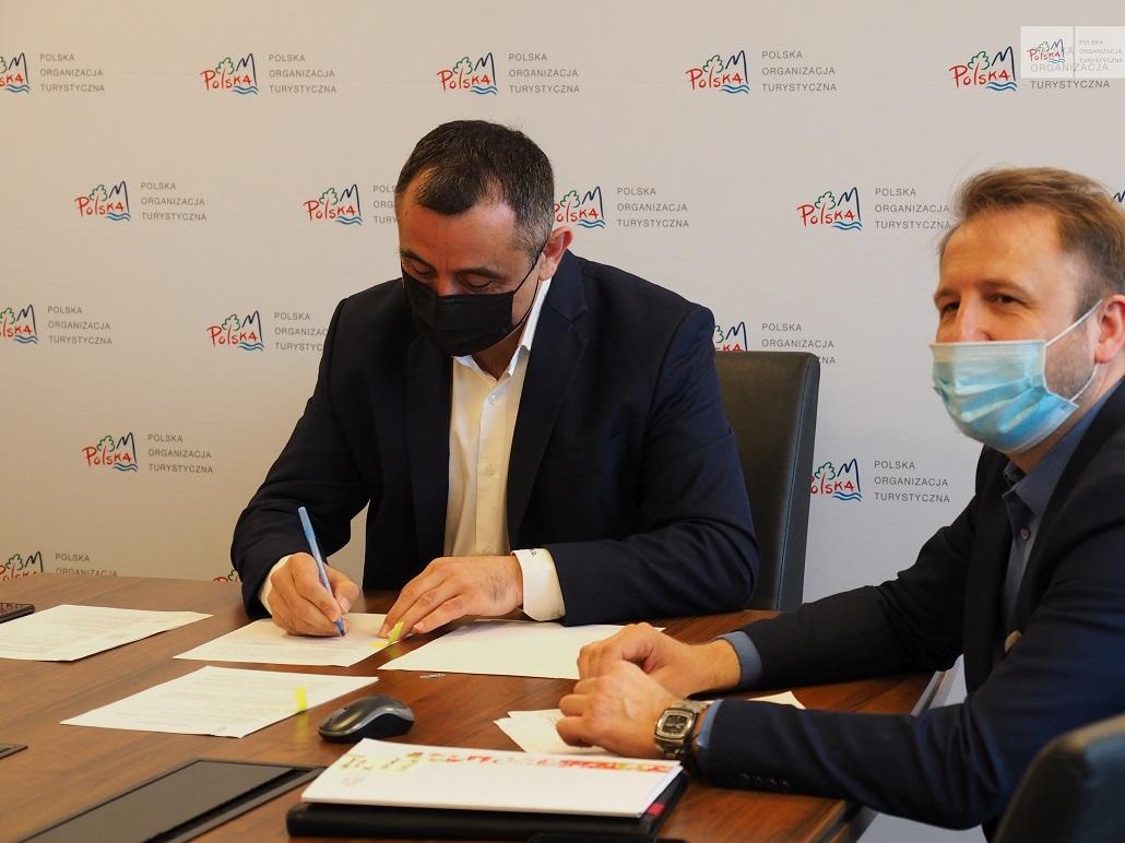 Podpisanie współpracy POT z AWF