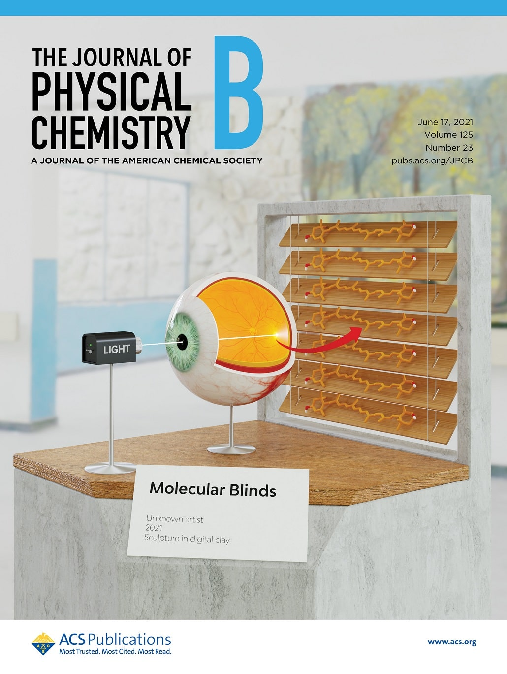 Odkrucie mechanizmu w oku