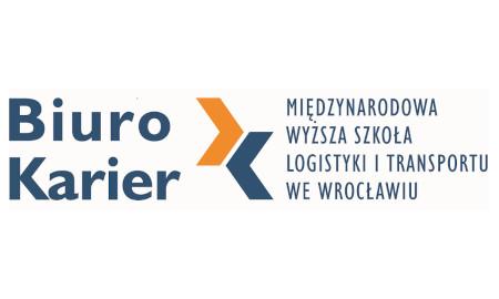 Logo Biuro Karier Międzynarodowej Wyższej Szkoły Logistyki i Transportu we Wrocławiu