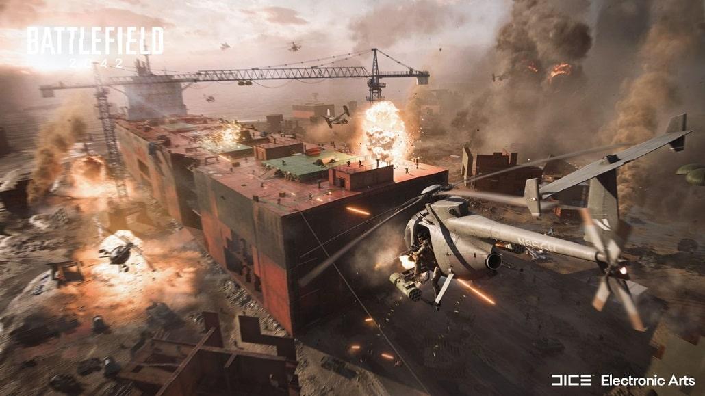 Zwiastun gry Battlefield 2042