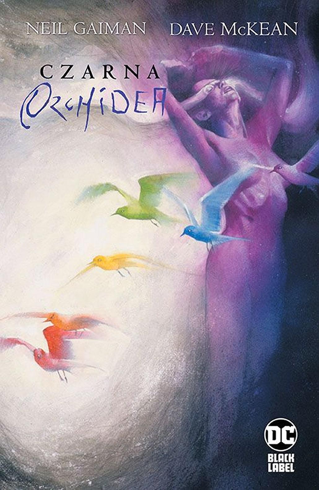 Okładka komiksu Czarna Orchidea