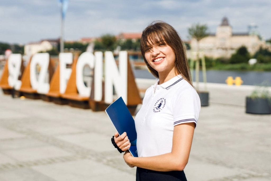 Studentka Akademii Morskiej w Szczecinie