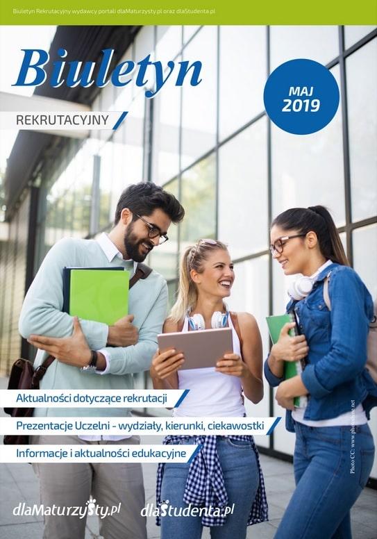 Biuletyn Rekrutacyjny Maj 2019 okładka