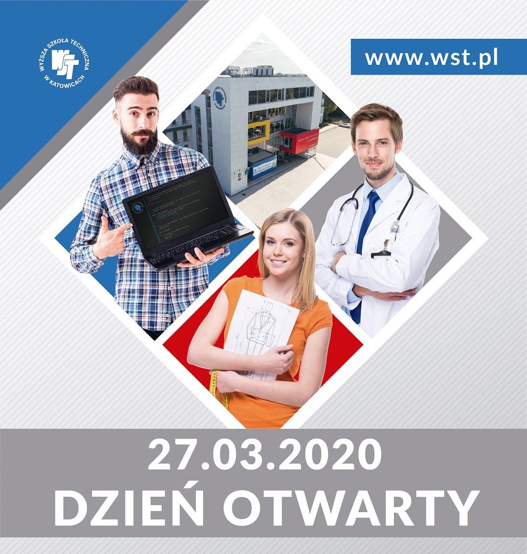 dni otwarte Wyższa Szkoła Techniczna w Katowicach plakat