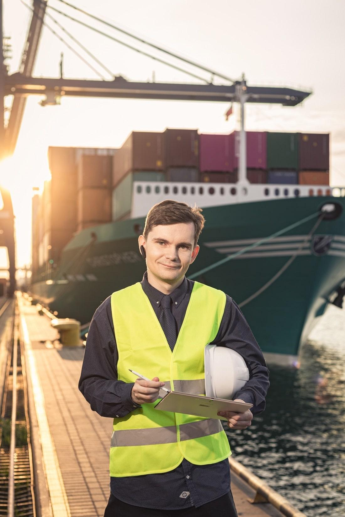 Pawel Czaja, Student Logistyki WSAiB w Gdyni