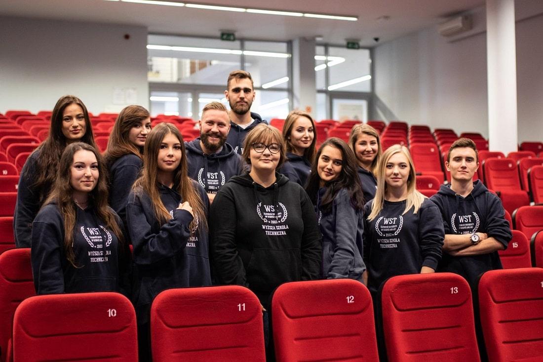 Studenci Wyższej Szkoły Technicznej w Katowicach