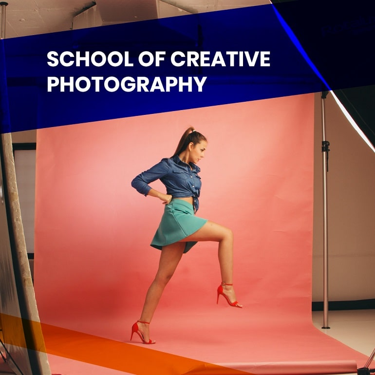 School of Creative Photography in English - baner