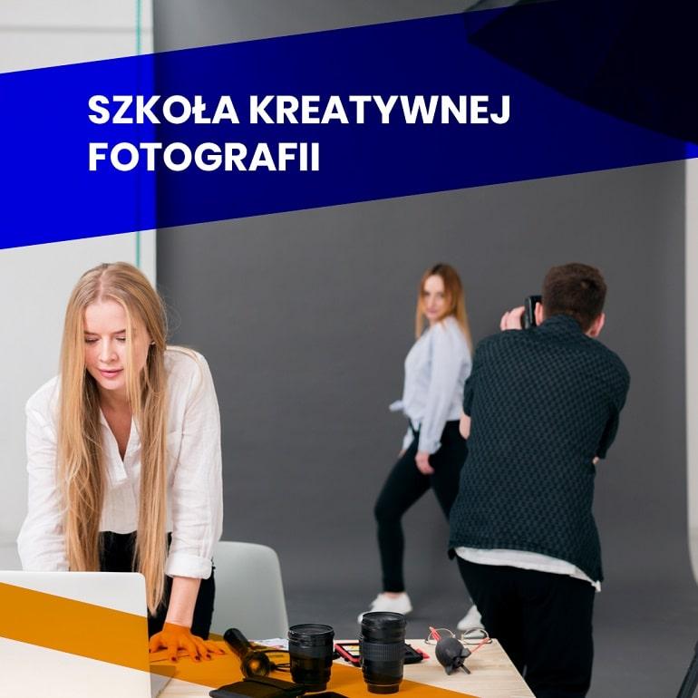Szkoła Kreatywnej Fotografii - baner