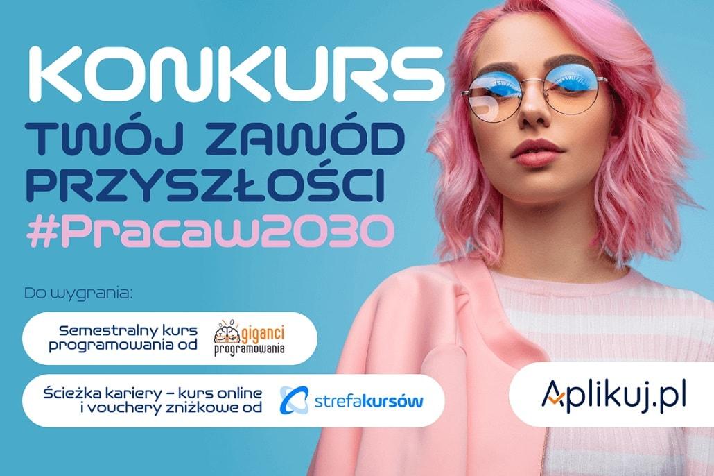 Konkurs Twój Zawód Przyszłości 2020 plakat