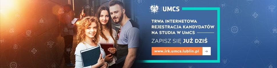 Rekrutacja UMCS 2019 baner