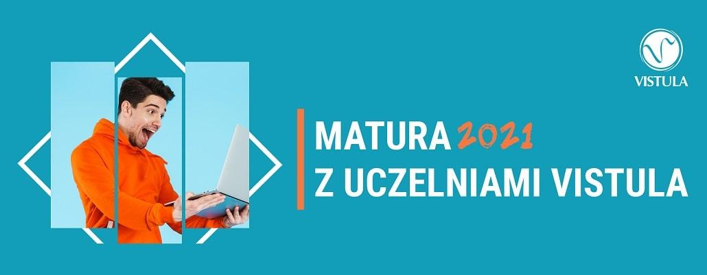 Vistula webinary dla maturzystów - plakat