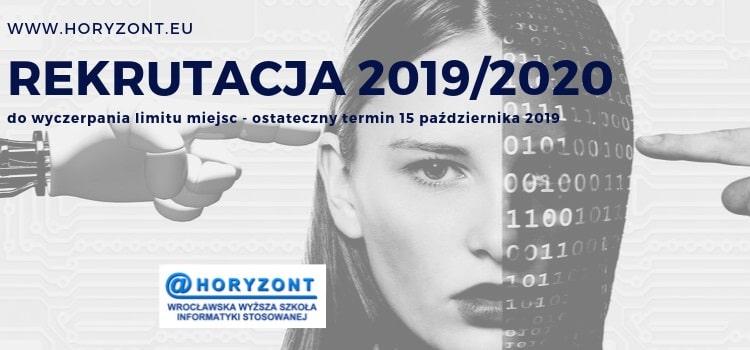 Informacja o przedłużeniu rekrutacji w WWSIS Horyzont na rok akademicki 2019/2020