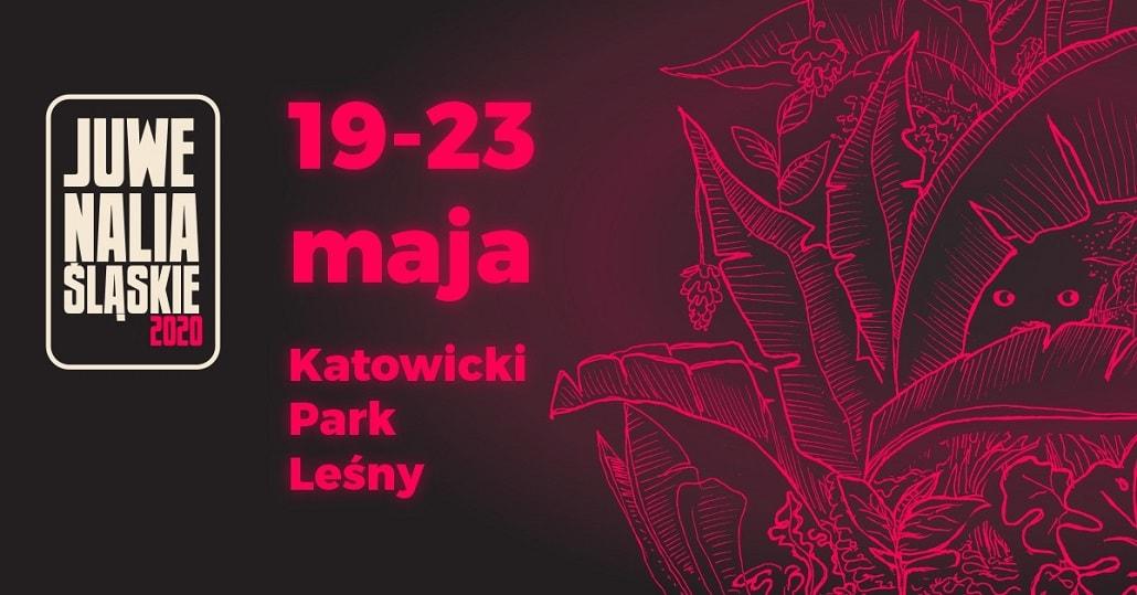 Juwenalia Śląskie 2020 baner plakat
