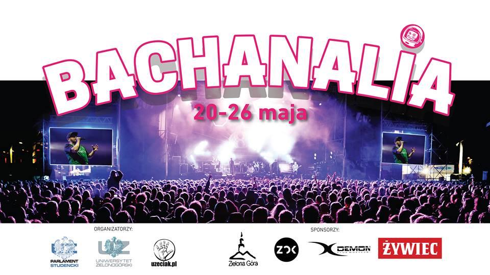 Bachanalia 2019 plakat