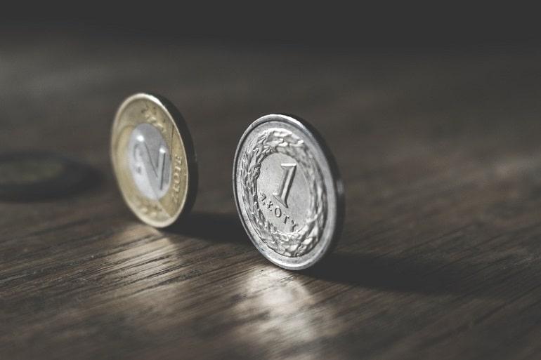 Złotówka i Dwuzłotówka, moneta jednozłotowa, moneta dwuzłotowa