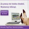Za pracą nie trzeba chodzić! - wirtualne targi pracy monsterpolska.pl pracodawcy oferty pracy online internet dni pracy
