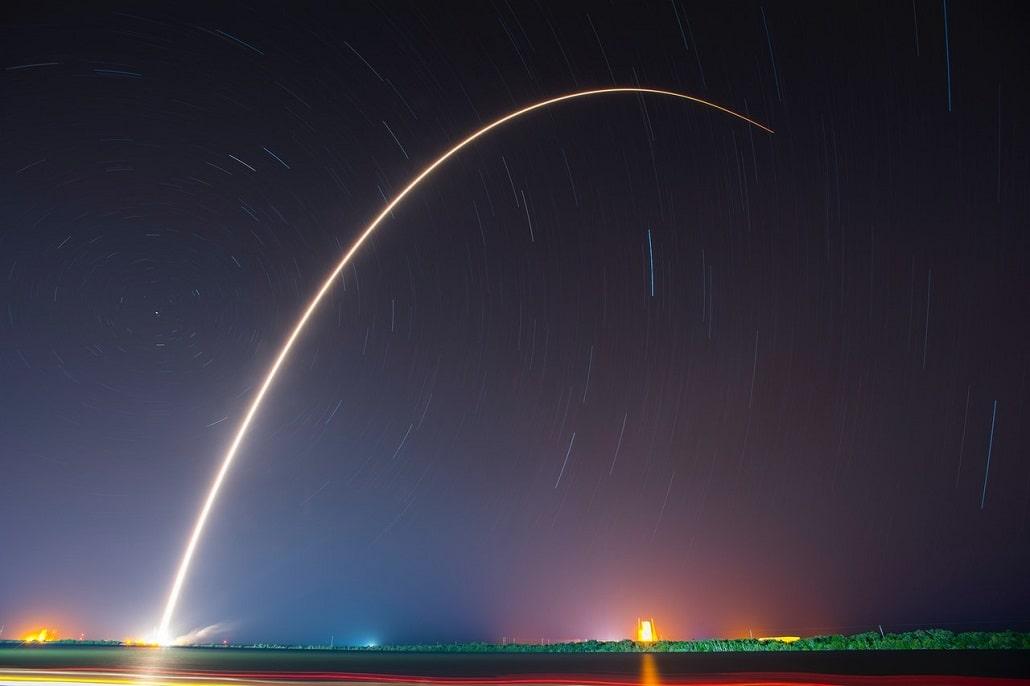 Start rakiety SpaceX